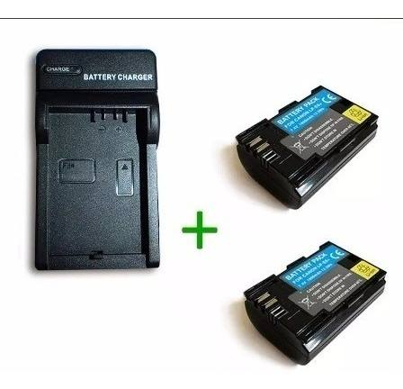 Pack Cargador Y 2 Baterias Lp-e6 Para Canon Eos 5d Eos 60d
