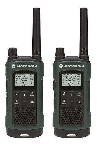 Par De Radios Motorola T Kilometros 22 Canales 26hrs