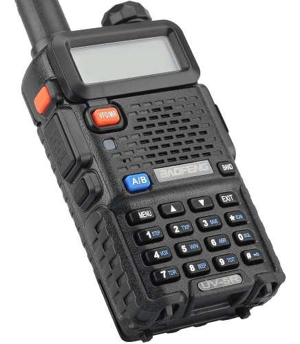Radio Baofeng Uv5r Doble Banda Vhf Uhf Uv-5r Profesional..