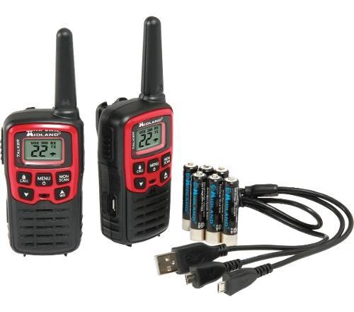 Radios Midland X-talker T31vp Dual Pack 26mi 41.6km Factura