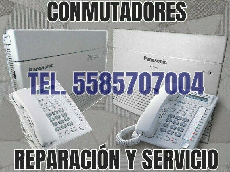 Reparación de Conmutadores Panasonic TEL.