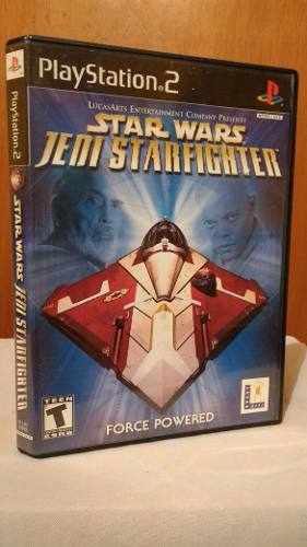 Star Wars Jedi Starfighter Ps2 Playstation 2 Od.st