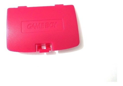 Tapa Para Bateria De Remplazo Gameboy Color, Roja