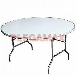 Venta de mesas redondas fibra de vidrio