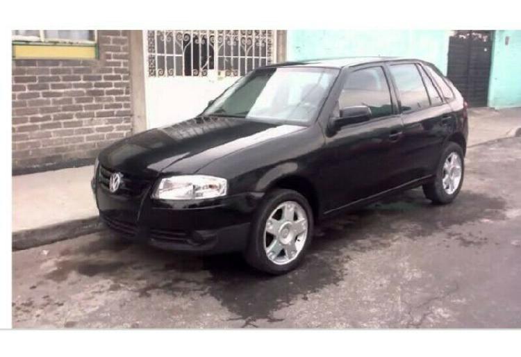 Volkswagen Pointer Trend 2006, standart negro, 4 cilindros,