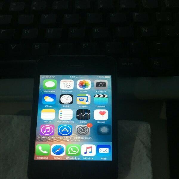 iphone 4s, 32gb, liberado de fabrica.