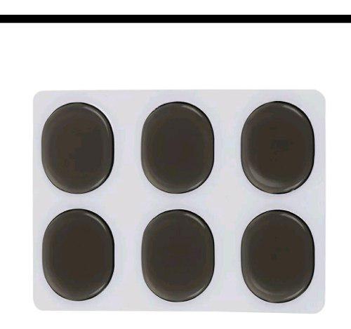 6 Pack Ahogadores De Gel Negro Humo Moongel Bateria 6pzs