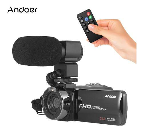 Andoer 1080p Hd Wifi Cámara De Video Digital Videocámara
