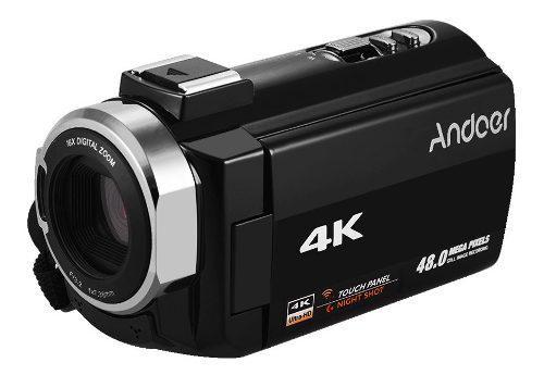 Andoer 4k Hd Cámara De Video Digital Videocámara Dv 16x