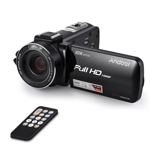Andoer Hdv-z82 1080p Full Hd 24mp Videocmara Digital