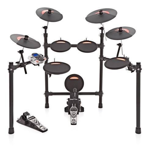 Batería Electrónica Digital Drum Kit Nux Dm-4 De 9 Piezas