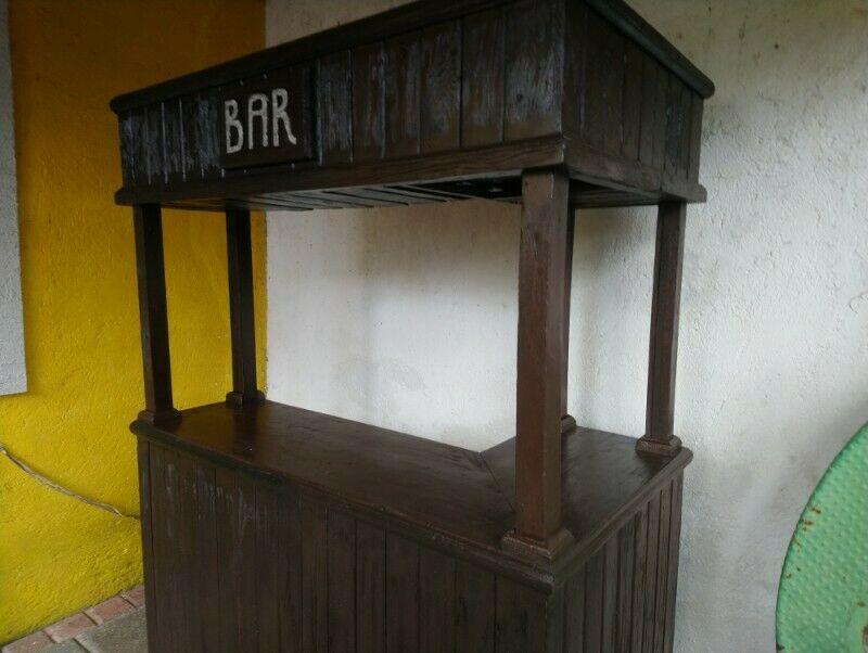 Cantina Barra Bar Rustica De Madera