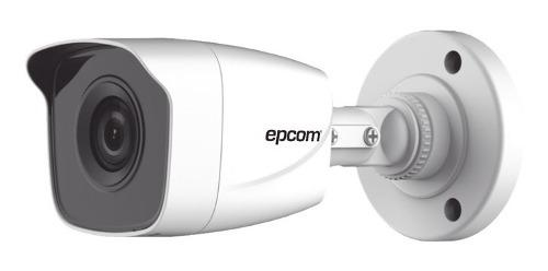 Cámara Bala Epcom Metálica 1080p 2 Mp Híbrida 103° 20