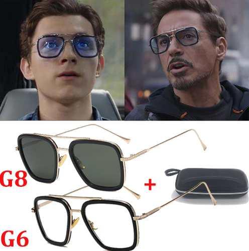 Gafas Spiderman Edith Peter Parker Gafas De Sol+caja