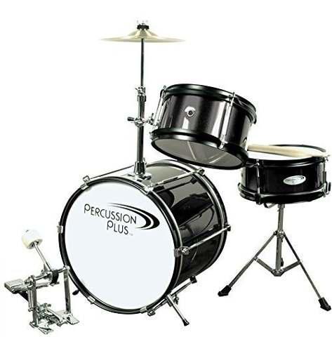 Instrumentos De Percusión Y Batería Para Niños Ppmini3bk
