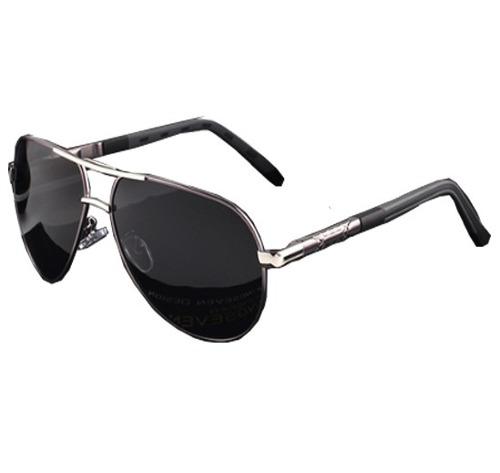 Lentes De Sol Aviador Polarizados Aluminio Tr90 Gafas Frank
