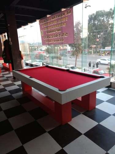 Mesa De Billar Pool Profesional Nueva Con Accesorios.