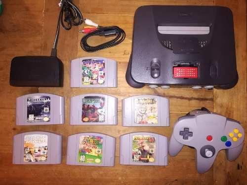 Nintendo 64 + Smash, Mario Kart, Mario 64 En Brutalgames®