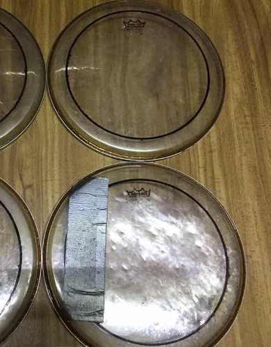 Parche Remo 10 Pulgadas Pinstripe Doble Capa Tom Batería