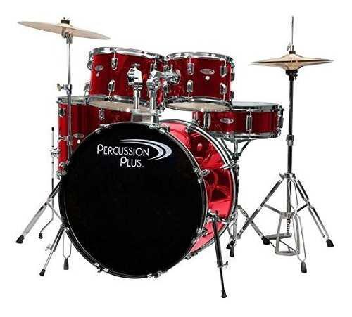Percussion Pluspp4100brd 5piezas Set De Batería,