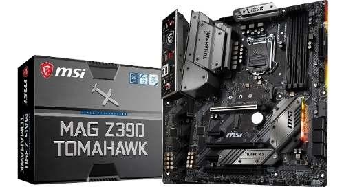 Tarjeta Madre Gaming Msi Mag Z390 Tomahawk Socket -v2 /v
