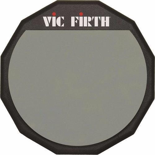 Vic Firth Pad12 Practicador De Batería 12 Pulgadas