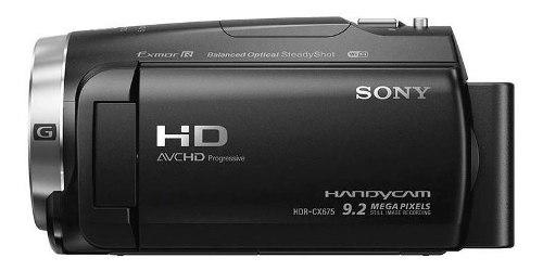 Videocamara Sony Hdr Cx675 Hd Zoom 30x 5.1 Canales 26.8 Mm