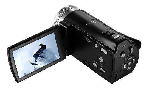 Videocamara Zoom 1080p Full Hd 16x Con Vision Nocturna V12
