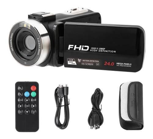 Videocámara Hd 1080p 24.0mp 3.0 Pulgadas Ips Pantalla 16x