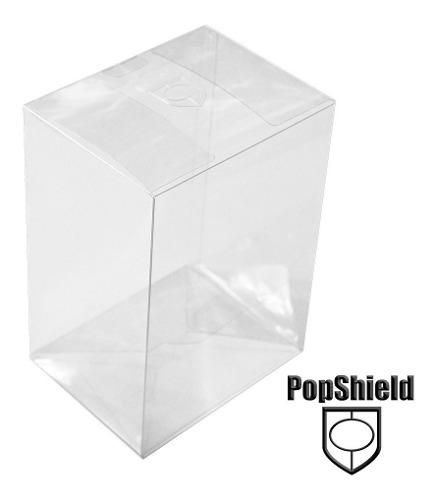 10 Protectores Para Funko Pop De 4 Pulgadas Marca Pop Shield