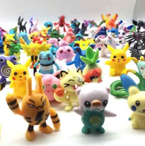 144 Figuras De Pokemon Coleccionables - Envío Gratis