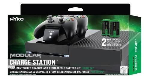Base De Carga 2 Baterias Para Control Xbox One Nyko Original