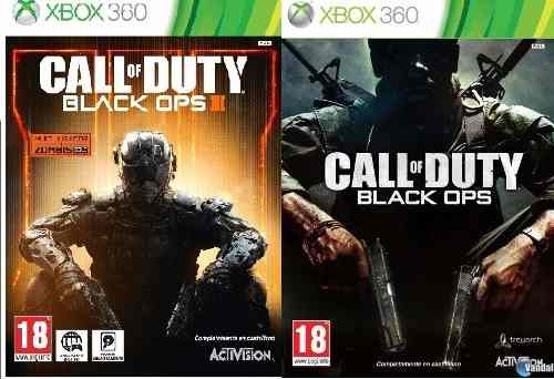 Call Of Duty Black Ops 1 Y 3 Xbox 360 (dig) Leer