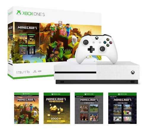 Consola Xbox One S 1tb 4k Blu-ray Control Bundle Juego Nueva