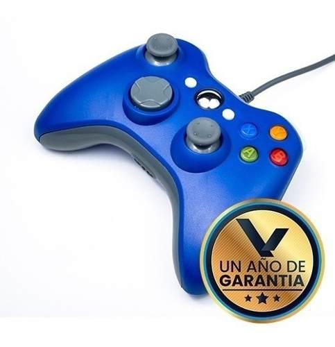 Control Alambrico Azul Para Xbox 360:: Virtual Zone