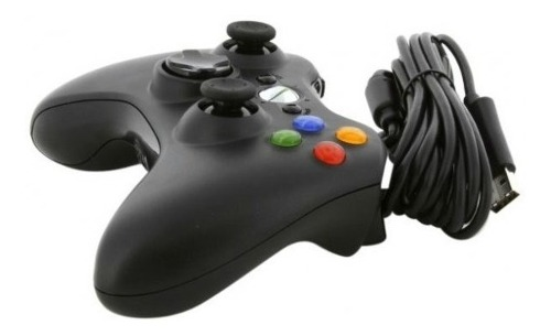 Control Alambrico Generico Para Xbox 360