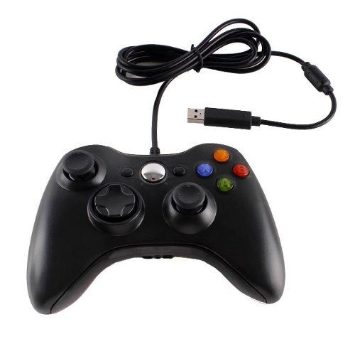 Control Gamepad Xbox 360 Alambrico Usb Pc