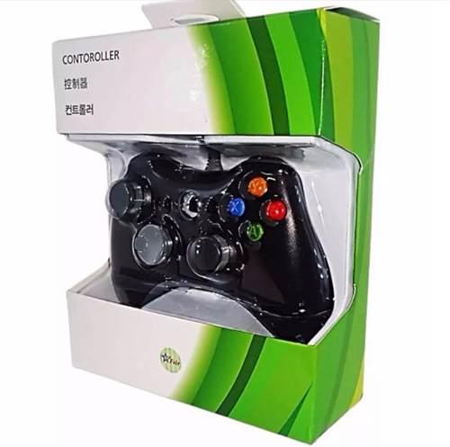 Control Usb Alambrico Para Xbox 360 Y Pc 4 Colores Game