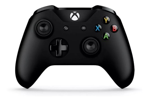 Control Xbox One Inalambrico Microsoft Negro Con Cable Pc