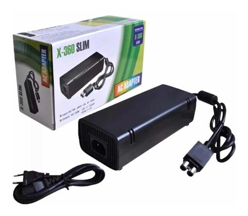 Fuente Eliminador Cargador Generico Para Xbox 360 Slim Nueva
