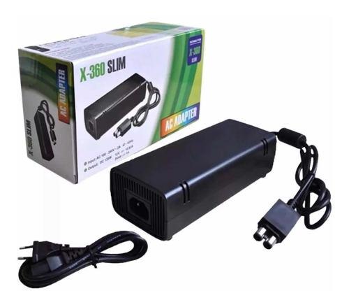 Fuente Eliminador Cargador Generico Para Xbox 360 Slim Nuevo
