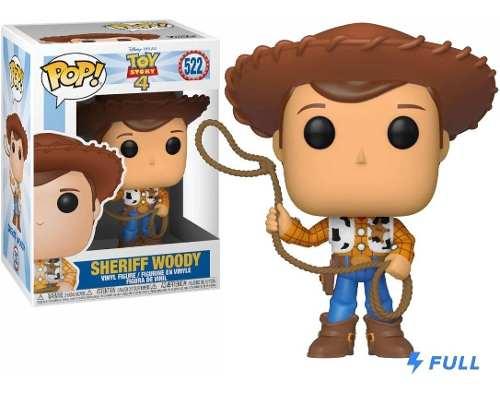 Funko Pop #522 Sheriff Woody Disney Pixar Toy Story 4