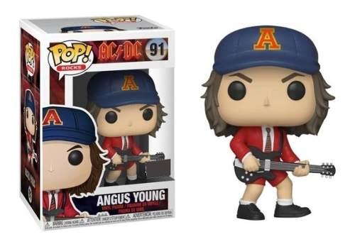 Funko Pop Rock Angus Young Ac/dc 100% Original Tienda Oficia