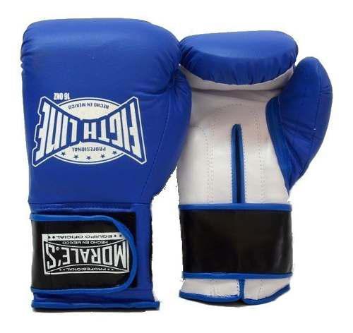 Guantes Box Kick Boxing Muay Morales 10-16 Cierre De Contac