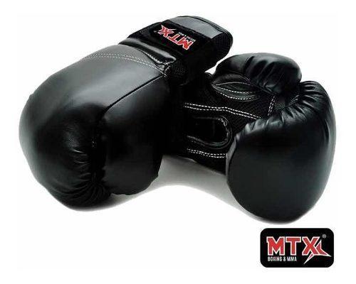 Guantes De Box Boxeo Kick Boxing Piel Sintetica Envio Gratis