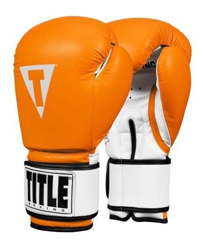 Guantes De Box Title Pro Style Piel 10,12, 14 Y 16 Oz Fpx