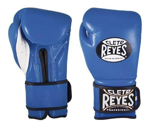 Guantes De Entrenamiento Cleto Reyes Azules 12 Oz