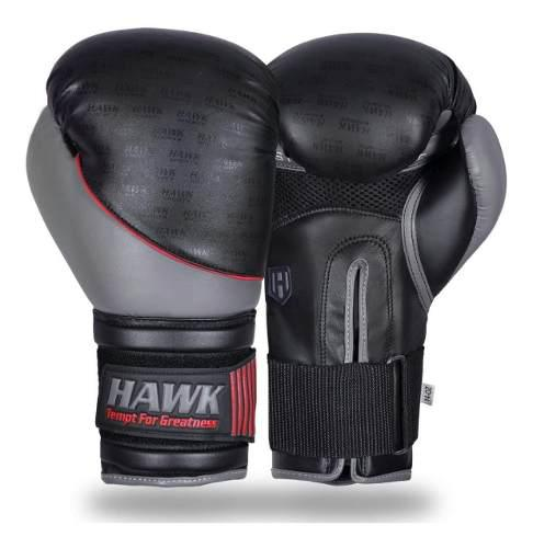Guantes Hawk Box Boxeo Muay Thai Kick Boxing 14oz Mma