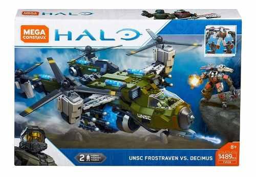 Halo Mega Construx Unsc Frostraven Vs Decimus  Pz