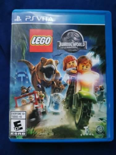 Juego De Psvita Lego Jurassic World